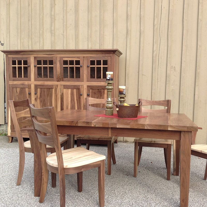 Harvest Table with Sierra Chairs