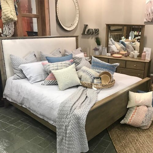 Wood Bedroom Suite, Mississauga Country Charm Showroom