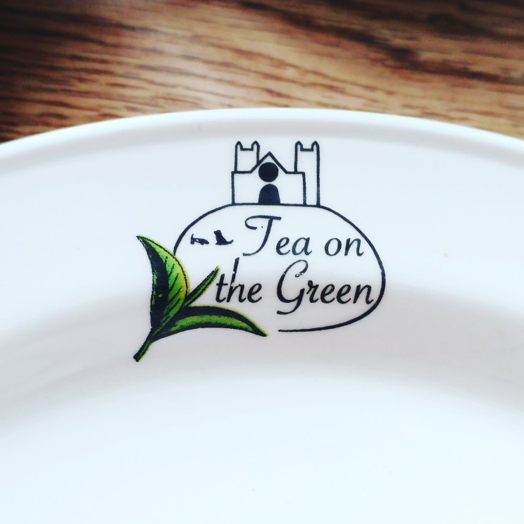 Exeter Tea on the Green Plate