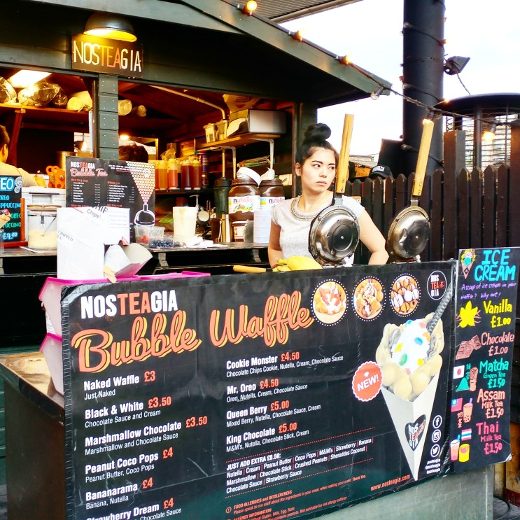 Urban Food Fest What to eat 13 bubble waffle