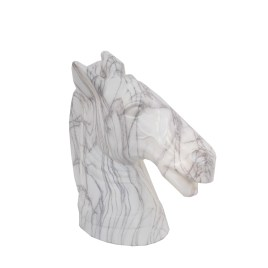 Marble Finish Horse Head (L)