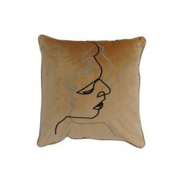 Abstract Face Drawing Pillow