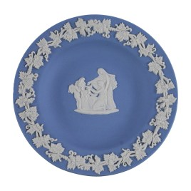Wedgwood Blue Jasperware Trinket Dish