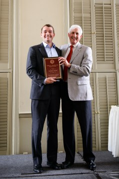 Samuel Edmond Ford, MD, received the William R. Shamblin, MD, Surgery Award.