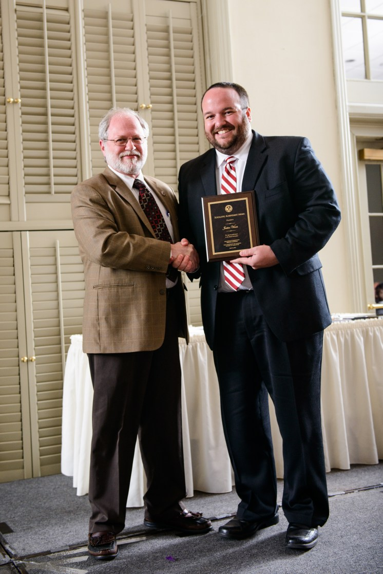Justin Vines, MD, was the recipient of the Scholastic Achievement Award.