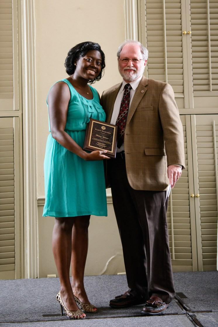 The William R. Willard Award went to Brittney Anderson, MD.