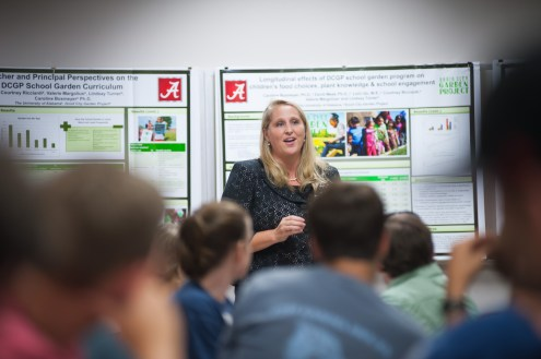 Dr. Caroline Boxmeyer, associate professor in Psychiatry and Behavioral Medicine, discusses her research measuring the impact of Druid City Garden Project's Gardens 2 Schools Initiative.