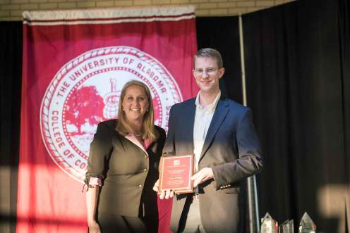 John Thomas Killian, Jr., was named the recipient of the Peter Bryce Award in Psychiatry.