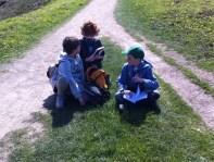 Os CCI´s cos seus cadernos de campo