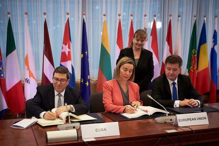 Accord de rapprochement entre Cuba et l'Union Européenne