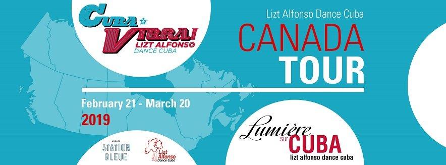 Lizt Alfonso Dance Cuba y su regreso a Canadá en 2019
