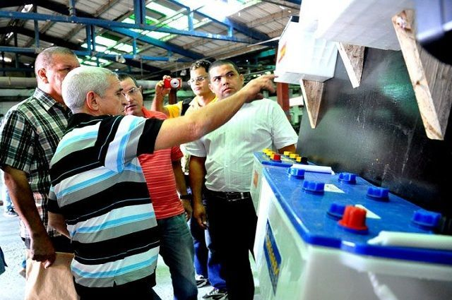 Cuban Commercial Mission in the Industrial Sector