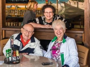 Sid, Elaine, and Cheryl