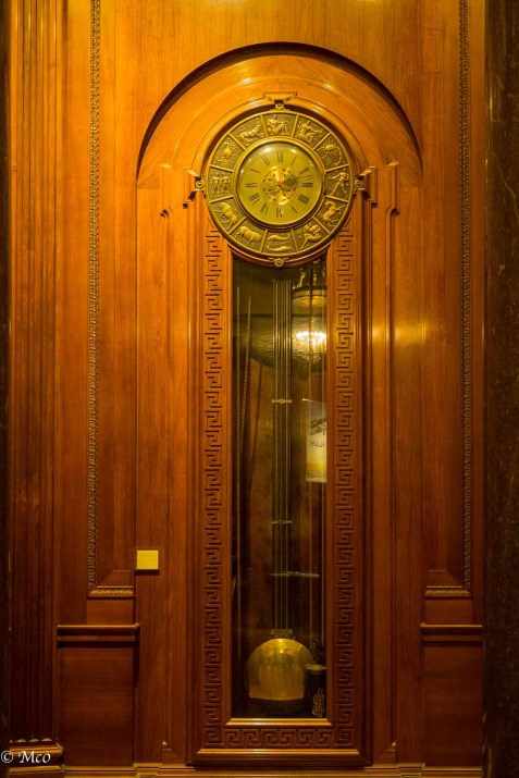 15 foot high clock