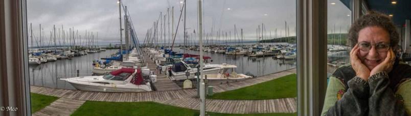 Big sailing marina