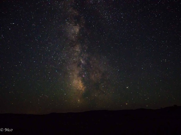 Stars and Milky Way from Sage Creek Wilderness