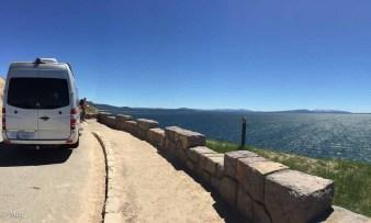 Overlooking Yellowstone Lake