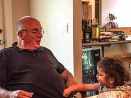 Doug and grandson, Harrison