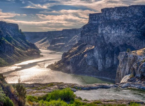 Snake River Canyon downstream