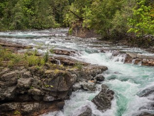 Stamp Falls, upstream