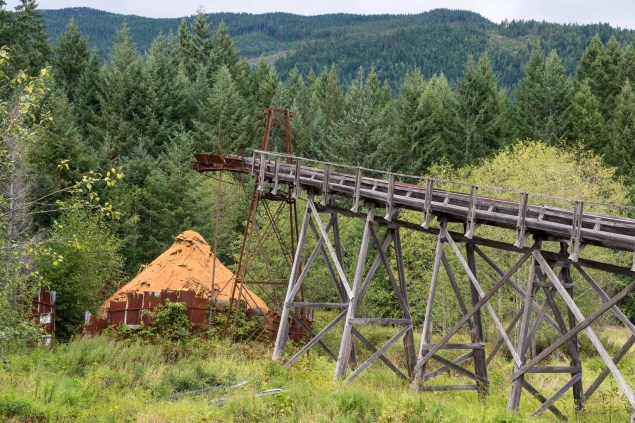 McLean Mill sawdust disposal