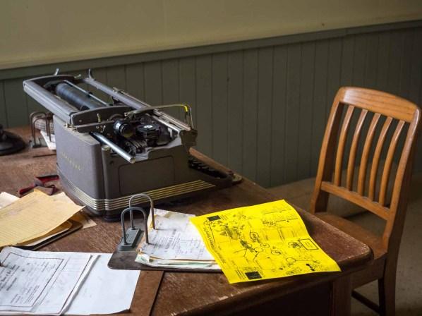 Modern office machinery