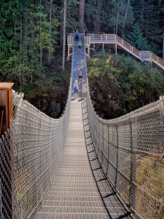 New suspension bridge