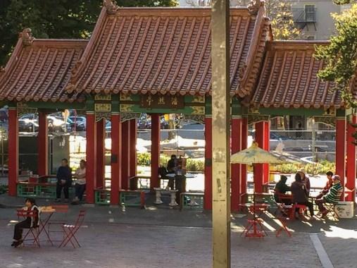 Chinatown picnic area