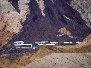 Mine crew housing (no longer in use)