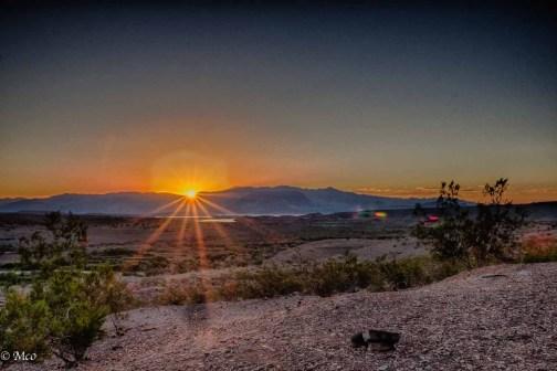 Sunrise over Lake Mead