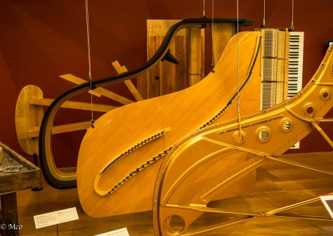 Steinway piano construction