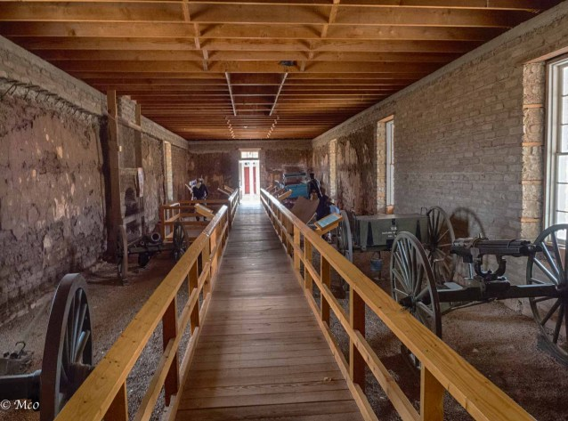 Fort Davis arsenal