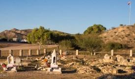 Lajitas cemetery mounds
