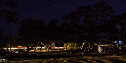 Campground after Sunset