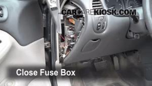 Interior Fuse Box Location: 19982002 Oldsmobile Intrigue