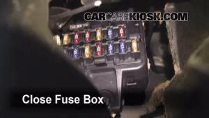Interior Fuse Box Location: 20002004 Volvo V40  2000 Volvo V40 19L 4 Cyl Turbo