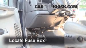 Interior Fuse Box Location: 19992007 Ford F250 Super Duty  2001 Ford F250 Super Duty Lariat
