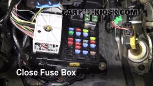 Interior Fuse Box Location: 20002007 Ford Taurus  2002