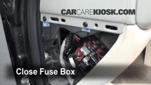 Interior Fuse Box Location: 20002006 GMC Yukon XL 2500  2002 GMC Yukon XL 2500 SLT 81L V8