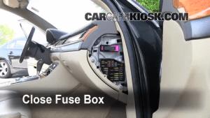 Interior Fuse Box Location: 19972003 Audi A8 Quattro