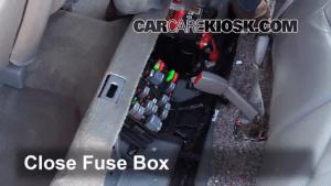 Interior Fuse Box Location: 20002005 Buick LeSabre  2004 Buick LeSabre Custom 38L V6