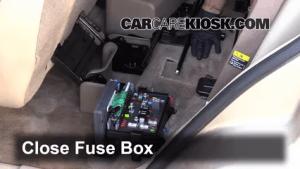 Interior Fuse Box Location: 20042007 Buick Rainier  2004