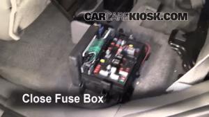 Interior Fuse Box Location: 20022009 Chevrolet
