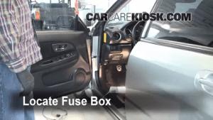 Interior Fuse Box Location: 20042007 Subaru Impreza  2005 Subaru Impreza WRX 20L 4 Cyl Turbo
