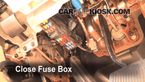 Interior Fuse Box Location: 20062010 Ford Explorer  2006