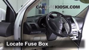 Interior Fuse Box Location: 19992003 Lexus RX300  2003
