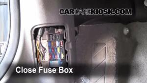 Interior Fuse Box Location: 20032008 Mazda 6  2006 Mazda