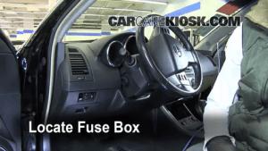 Interior Fuse Box Location: 20022006 Nissan Altima  2006