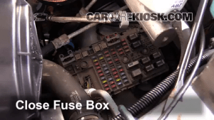 Replace a Fuse: 19962014 Chevrolet Express 3500  2007