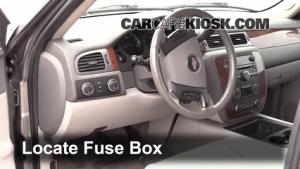Interior Fuse Box Location: 20072013 GMC Sierra 3500 HD  2008 GMC Sierra 3500 HD WT 66L V8